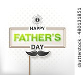 father's day. vector... | Shutterstock .eps vector #480131851