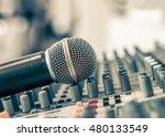 microphone voice speaker on... | Shutterstock . vector #480133549
