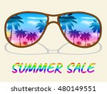 summer sale representing hot... | Shutterstock . vector #480149551