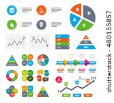 data pie chart and graphs. you... | Shutterstock .eps vector #480155857