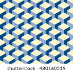 Isometric Cubes Pattern....
