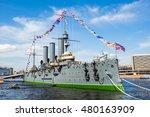 cruiser aurora  the famous...   Shutterstock . vector #480163909