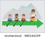 the team. business concept... | Shutterstock .eps vector #480166249