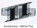smart double exposure of a... | Shutterstock . vector #480167761