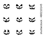 ghost smiles for halloween... | Shutterstock .eps vector #480210145