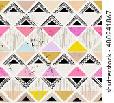 abstract pattern background ... | Shutterstock .eps vector #480241867