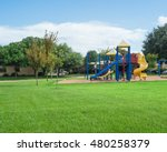 colorful children playground... | Shutterstock . vector #480258379