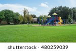 colorful children playground... | Shutterstock . vector #480259039