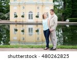 love story  young couple....   Shutterstock . vector #480262825