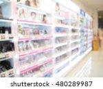 pharmacy store  drug store ... | Shutterstock . vector #480289987