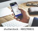schedule calendar agenda... | Shutterstock . vector #480298831