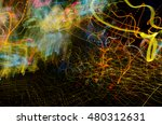 colorful glowing abstract... | Shutterstock . vector #480312631