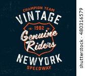 typography vintage motor brand...   Shutterstock .eps vector #480316579