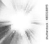halftone dots vector texture... | Shutterstock .eps vector #480318895