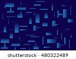 abstract dark blue background...