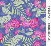 floral seamless pattern | Shutterstock .eps vector #48034663