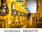 valves manual in the production ... | Shutterstock . vector #480364759