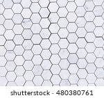 closeup of tile wall for... | Shutterstock . vector #480380761