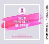 breast cancer awareness... | Shutterstock .eps vector #480383581
