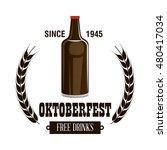 oktoberfest beer festival... | Shutterstock .eps vector #480417034