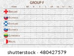 group f. 2018 fifa world cup... | Shutterstock .eps vector #480427579