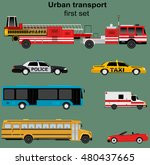 collection of municipal...   Shutterstock .eps vector #480437665