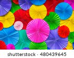 abstract wallpaper rainbow... | Shutterstock . vector #480439645