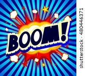 boom illustration | Shutterstock . vector #480446371