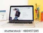 paris  france   sep 8  2016 ... | Shutterstock . vector #480457285