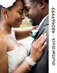african american bride and groom | Shutterstock . vector #480469999