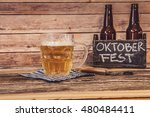 oktoberfest beer | Shutterstock . vector #480484411