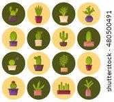 vector illustration with... | Shutterstock .eps vector #480500491