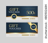 voucher design   Shutterstock .eps vector #480502684