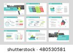 set of color infographic... | Shutterstock .eps vector #480530581