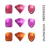 cartoon illustrations of gems...