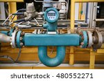 flow transmitter or flow... | Shutterstock . vector #480552271