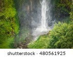 sipiso piso waterfall on the... | Shutterstock . vector #480561925