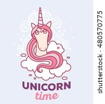 vector illustration of cute... | Shutterstock .eps vector #480570775