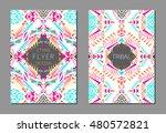 vector set of geometric...   Shutterstock .eps vector #480572821