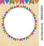 template junina party | Shutterstock .eps vector #48061864