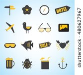 holiday summer vector icon... | Shutterstock .eps vector #480627967