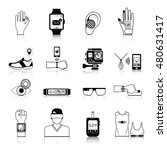 gadgets and devices icons set... | Shutterstock . vector #480631417