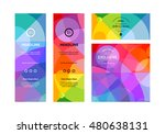 set of colorful banners. vector ... | Shutterstock .eps vector #480638131