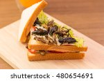 Insect Food   Sandwich Made Of...