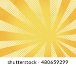 retro comic yellow background... | Shutterstock . vector #480659299