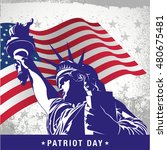 patriot day | Shutterstock .eps vector #480675481