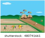 lifestyle of farmer at...