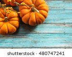 Fall Background With Mini...