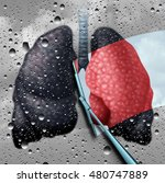 lung health therapy medical...   Shutterstock . vector #480747889