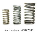 industrial springs | Shutterstock . vector #48077335
